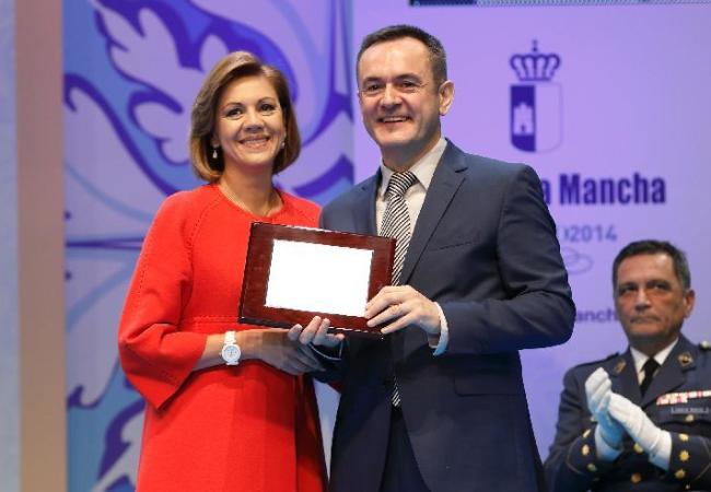José Manuel Leceta es nombrado hijo predilecto de Castilla La Mancha